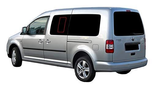 Solarplexius Auto-Sonnenschutz Scheiben-Tönung für VW Caddy IV Maxi 15-20 Keine Folien Komplettsatz