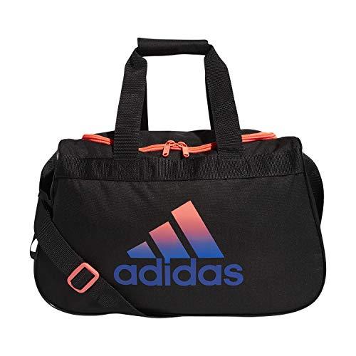 Adidas 5150762 - Borsone Diablo, taglia unica, colore: Nero/Rosa/Blu Reale