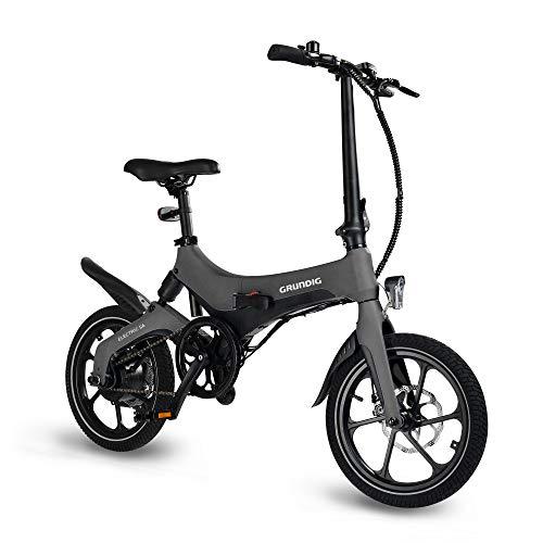 GRUNDIG Elektrofahrrad, faltbares E-Bike Fahrrad für Erwachsene mit...