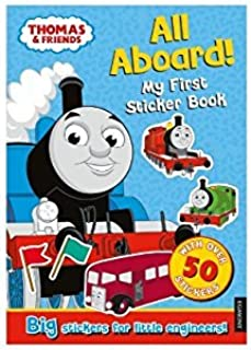 Thomas and Friends Thomas My First Sticker Book All Aboard! Over 50 Big Stickers for Little Engineers!