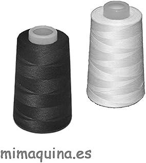 2 conos de hilo de poliester, especiales para máquinas de