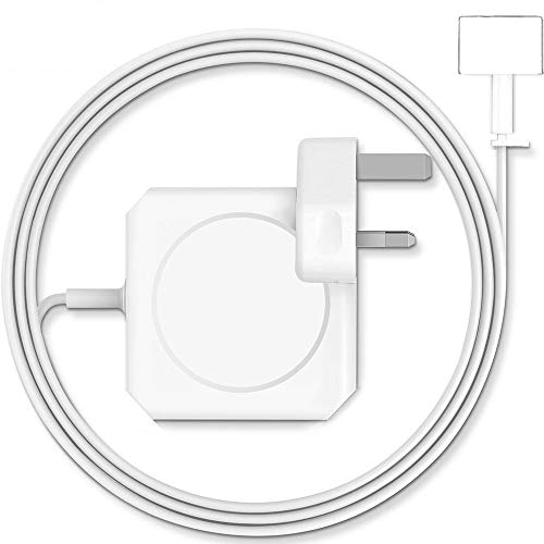 OOTOMI Compatible with Mac Pro charger, AC 60w power adapter, magnetic T-Tip connector charger, suitable for 13-inch Mac Pro Air (models before mid-2012)…