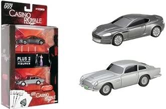 James Bond 007 Casino Royale Showcase Aston Martin DB5 & DBS 1:36 Scale Die Cast Vehicles w/ Bond & Vesper Mini Figures Set