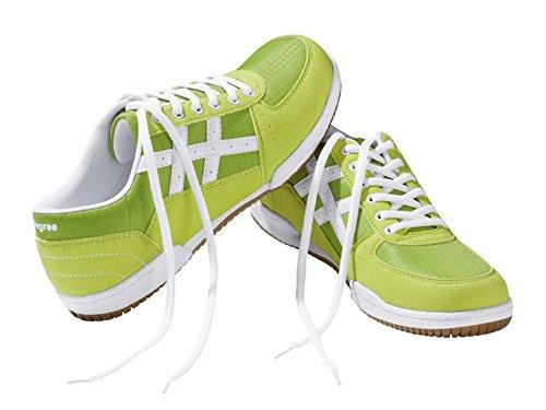 Livergy Casual - Scarpe da ginnastica da uomo, per il tempo libero, colore: verde/bianco, Verde (verde), 45 EU