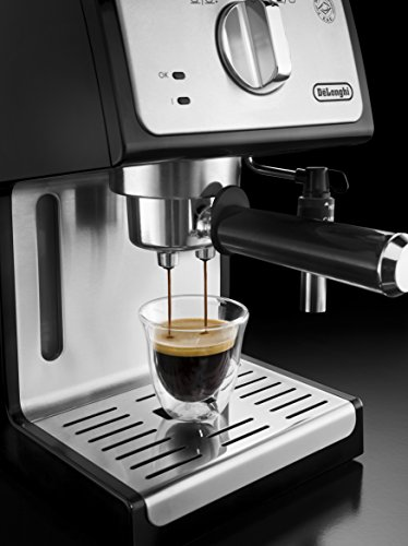 De'longhi – Cafetera de Bomba Tradicional para Espresso y Cappuccino,