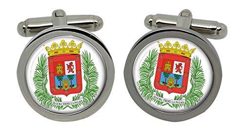 Gift Shop Las Palmas (Spanien) Manschettenknöpfe in Chrom Kiste