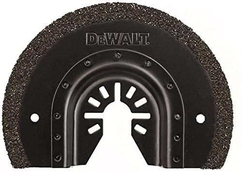 Dewalt DT20717-QZ DT20717-QZ-Hoja de Sierra segmentada de carburo para Azulejos 3mm (eliminación de Juntas) para Multi-Herramienta oscillante, 0 W, 0 V, Arándano