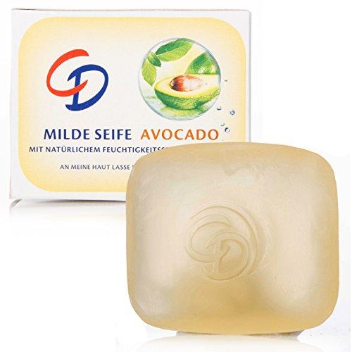 5Pack CD Milde Reise-Seife Avocado 5x 35g