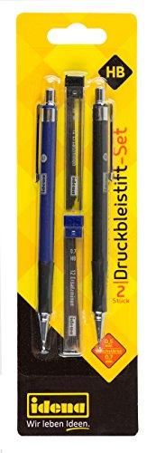 Idena 510338 - Druckbleistift-Set, 2 Stück, 0.5/0.7 mm