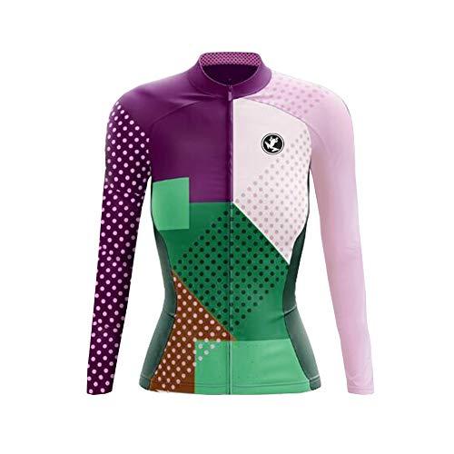 Uglyfrog LJW05 2018-2019 New MTB Bike Wear Neue Frühling & Herbst Fahrradtrikot Langarm Shirt Damen Spring Breathable Lange Hülsen Jersey Fahrradbekleidung