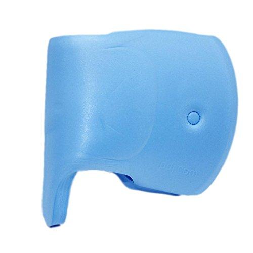 hunpta Couvercle de protection pour robinet d'eau pour enfants, bébés, enfants (bleu)