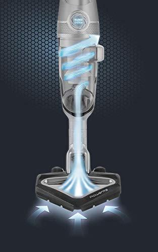Rowenta Air Force Extreme Silence RH8929WO - Aspirador Escoba Ciclónico sin Cable sin Bolsa con Tecnología Silence y Batería Ion-litio de 25,5 V con Autonomía de 55 Minutos