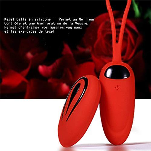 Masseur Portable Sans Fil 12modes de Vibration...