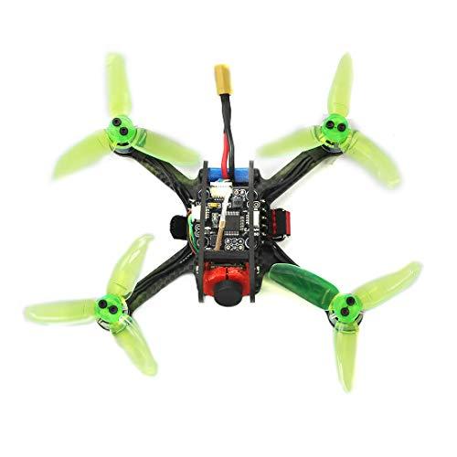 QWinOut Leader-120 120mm Mini F3 OSD 2S RC FPV Racer Drone Quadcopter 700TVL Camera VTX Goggle 10A ESC 7500KV Brushless 2.4G 6ch BNF RTF Combo Set (DIY Kit Camera)