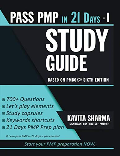 Pass PMP in 21 Days - Study Guide