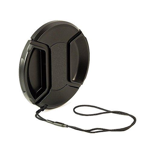 BlueBeach 67mm Tapa de la Lente Broche de presión en el Clip con la Cadena de videocámaras, cámaras - Canon, Nikon, Olympus, Panasonic, Pentax, Samsung, Sony, etc Leica
