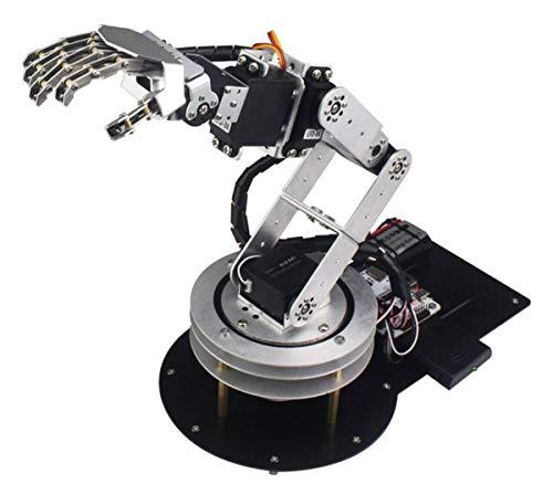 HARLT Bionic Mecánica Programación De Robot Kit Exoesqueleto Palma Desarrollo Secundarios con Reproductor De MP3 De Baile Brazo Robótico De Alta Tecnología Juguetes,Unassembling