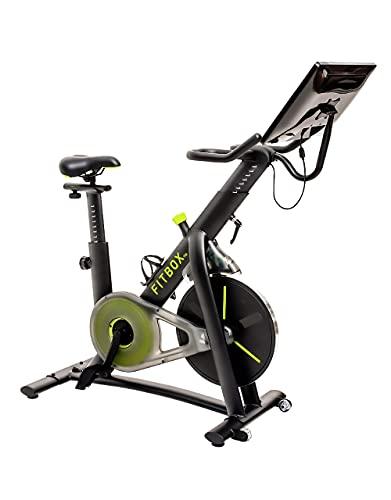 FITBOX PRO 最上位機種 フィットネスバイク 21.5 inch モニター トレーニングプログラム エアロバイク スピンバイク プライベートジム (本体)