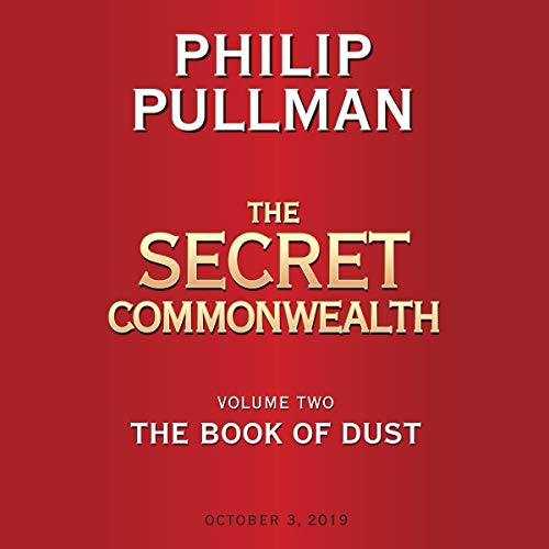 The Book of Dust: The Secret Commonwealth  audiobook cover art
