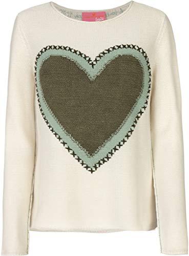 Lieblingsstück Damen Pullover RH mit Inrasie Herz (42)