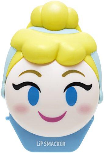 Lip Smacker – Colección Disney Emoji Flip Balm – Bálsamo Labial Hidratante Infantil Cenicienta – Hidratante Labios Sabor Bayas – Ideal para Regalar – Envase Individual