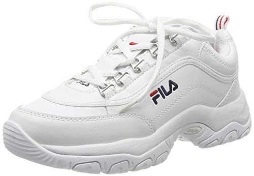 Fila Strada Low Wmn, Sneaker a Collo Alto Donna, Bianco (White 1fg), 38 EU