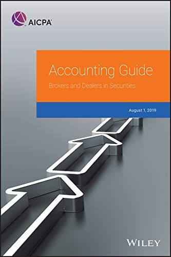 Compare Textbook Prices for Accounting Guide: Brokers and Dealers in Securities 2019 AICPA 1 Edition ISBN 9781948306669 by AICPA