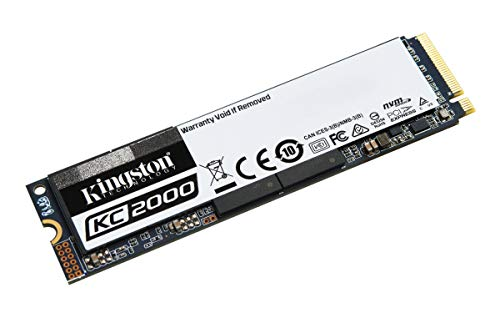 Kingston 500GB KC2000 M.2 2280 NVME PCIE GEN 3.0