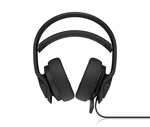 OMEN Mindframe Prime Gaming Headset (FrostCap-Technologie, Virtual Surround Sound, Noise-Cancelling, Mikrofon, On-Ear, RGB-Beleuchtung, USB-A-Anschluss) schwarz