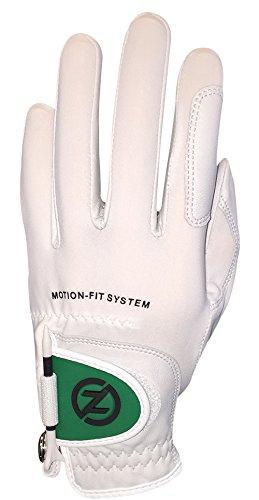 Zéro Friction Null Reibung zf-gl10012Herren Golf-Handschuhe, Weiß/Grün
