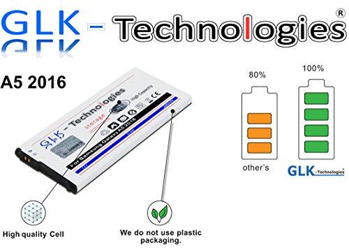 GLK-Technologies High Power Ersatzakku für Samsung Galaxy A5 2016 SM-A510F | Original Battery | accu | 2900 mAh Akku | 2020 B.j
