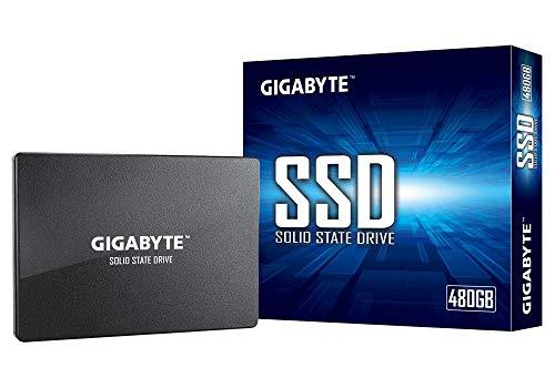 """Gigabyte SSD 480GB Unidad de Estado sólido 2.5"""" Serial ATA III - Disco Duro sólido (480 GB, 2.5"""", 550 MB/s, 6 Gbit/s)"""