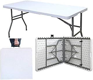 SogesPower Tréteau Pliable Robuste pour Traiteur, Camping, Pique-Nique, Jardin, terrasse, Barbecue, Table de fête HP-152CZ