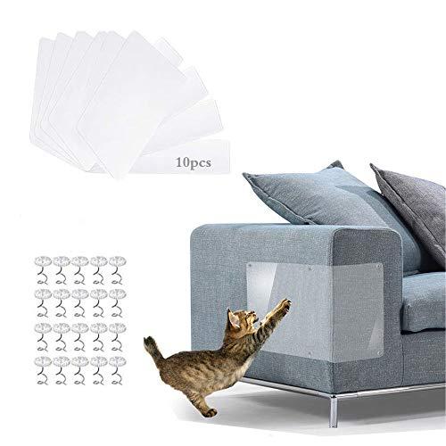 Anyingkai 10pcs Kratzschutz,Kratzschutz for Katze Hund,Kratzschutz Couch,Kratzschutz Katze,Anti Kratz Möbelschutz,Kratzschutz Möbe,Kratzschutz Set,Anti Kratzer Katzen