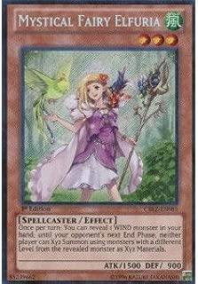 Yu-Gi-Oh! - Mystical Fairy Elfuria (CBLZ-EN085) - Cosmo Blazer - 1st Edition - Secret Rare