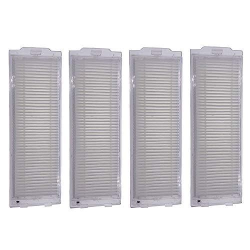 4 piezas de filtro de repuesto para aspiradora Cecotec Conga 3490