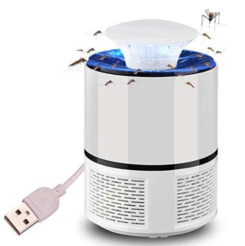 Moskito-Lampe USB Photocatalyst Mückenkontrolle Lamp/Fliegenkontrolle Mückenschutz Leführt Anti-Mückengerät,White