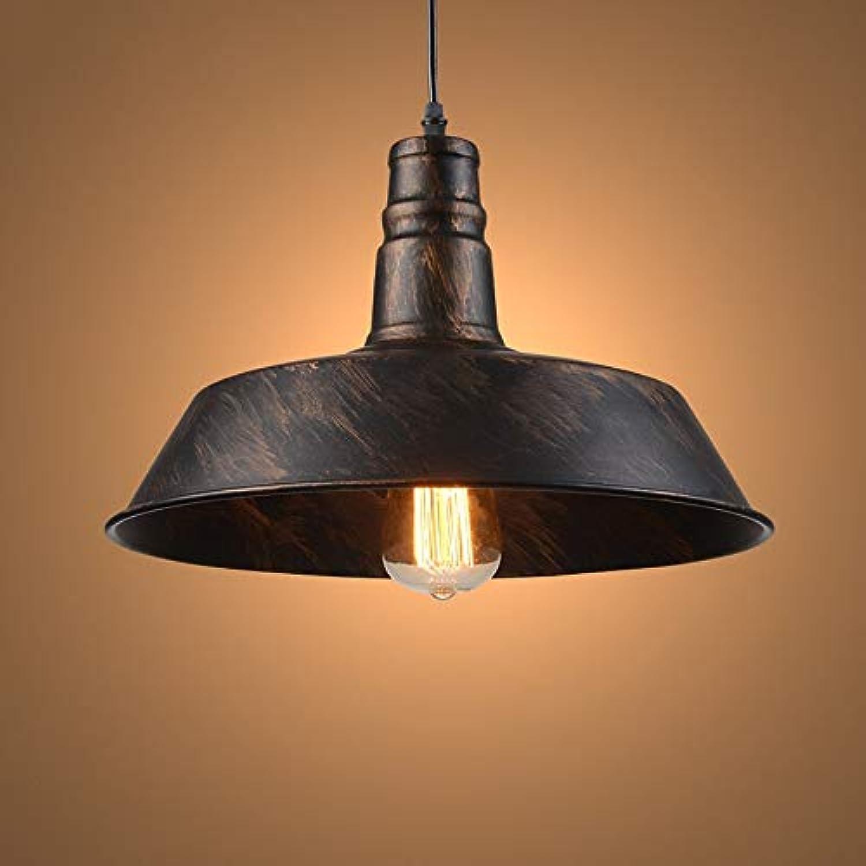 Zhang Yan ZYY Retro Industrial Style Einzelkopf Kronleuchter Café Kreative Eisenhandwerk Bar Restaurant Loft Kronleuchter für Scheune Lager Beleuchtung Lampen mit E27