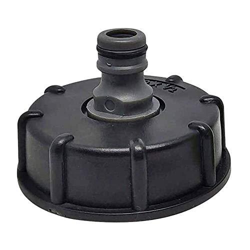 XinKu IBC Tankhahn-Adapter Gartenschlauchverbinder Kunststoff Wasserschlauch Rohradapter Ersatzventil Armaturen Teile