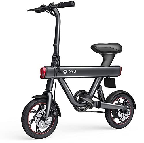 DYU V1 Bicicleta Eléctrica Plegable 12