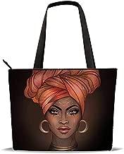 Tote Bag Shoulder Bag for Women Black Girl Melanin Shoulder Handbag Oxford Large Capacity Work Fit