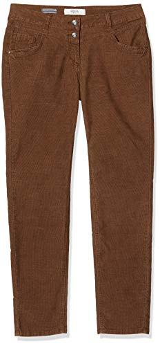 Cecil Damen 372743 Hose, Braun (Caramel Brown 12085), W33/L32(Herstellergröße: 33)