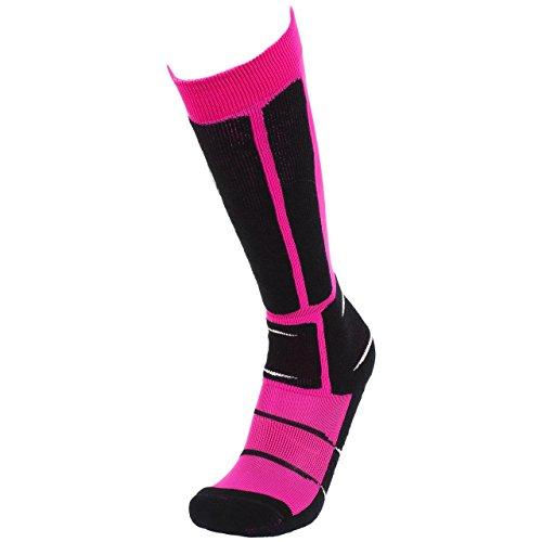 SD Best selection - BCK Anatomic Fuchsia Ski - Chaussettes de Ski - Fuschia - Taille 41