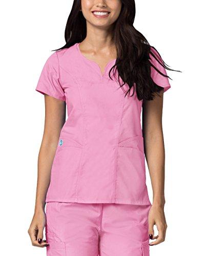 Sivvan Uniformi Mediche Camice da Donna Parte Superiore Infermiera Ospedale da Lavoro