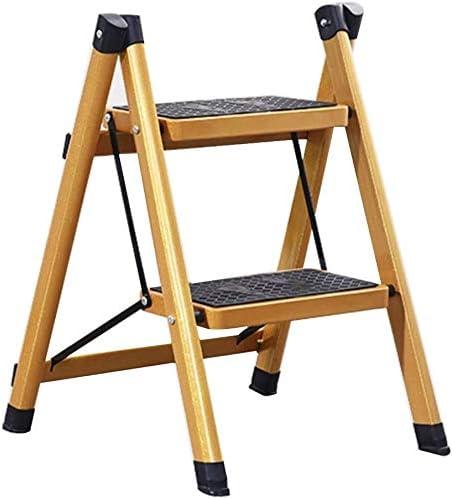 TZSMJT Free shipping Max 73% OFF Ascend Stool Iron Folding Lad Small Ladder 2-3 Step