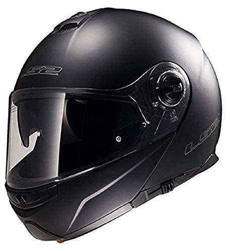 Casco de Moto LS2ff325luz estroboscópica con tapa frontal motocicleta...