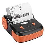 FEBT Impresora térmica de Recibos de 80 mm, Mini Impresora inalámbrica portátil con Bluetooth, Impresión de facturas de Recibos USB para iOS/Android/Windows, Compatible con ESC/POS(EU)