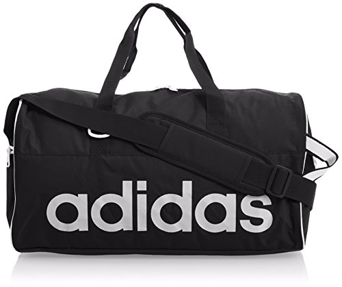 adidas Sporttasche Linear Performance Teambag Small, Black/Pearl Grey, 47 x 20 x 25 cm, 24 Liter