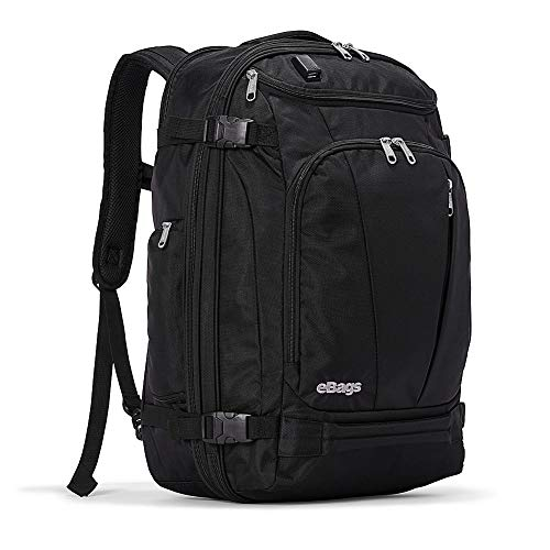 eBags TLS Mother Lode Weekender Convertible with USB Port (Black w/USB)
