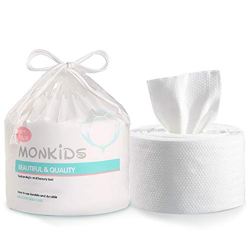 1 serviette de visage jetable en pur coton pour épaissir le salon de beauté